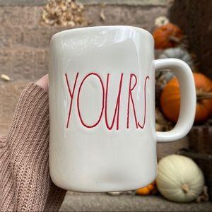 RAE DUNN 'YOURS' First Edition Mug